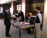 행사 당일 아침 8시 반, 이른 시간인데도 이학수 회장을 비롯한 집행부 임원들은 참가자를 맞이할 준비를 착착 진행하고 있었습니다.
