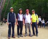 1기 대선배님, 왼쪽으로부터 최정봉 선배님, 강경식 선배님, 노두현 선배님, 오동훈 선배님